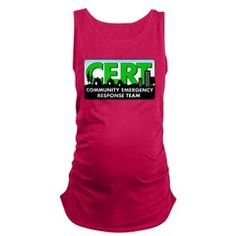 Cert Maternity Tank Top This stylishly cute Maternity Tank is just what the doctor ordered. #CERT #CommunityEmergencyResponseTeam #Survivalist #Survival #Preparedness #Prepper #Homesteading #Homestead #Hoodie #CERTGear #Baby #Maternity #TankTop