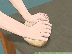 How to Make Homemade Polymer Clay Substitute. Are you tired of running to the craft store for expensive polymer clay? This wikiHow will show you how to make your own polymer clay substitute. Keep in mind, however, that these homemade clays. Homemade Polymer Clay, Fondant Toppers, Air Dry Clay, How To Make Homemade, Craft Stores, Diy And Crafts, Paper Mache, Tutorials, Image