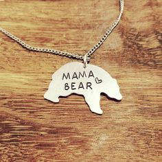 Mama Bear Necklace- You choose the length