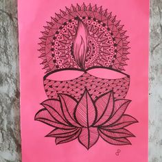 Easy Mandala Drawing, Mandala Art Lesson, Mandala Doodle, Mandala Artwork, Doodle Art Drawing, Drawing Lips, Diwali Drawing, Baby Cartoon Drawing, Tattoo Coloring Book