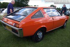 Rare retro red #Renault 17 Coupe