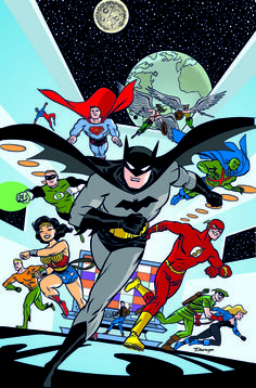 Justice League #33 by Darwyn Cooke variant cover: | DC Celebrates Batman's 75th Anniversary By Giving Him Every Cover In July