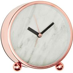 Lisa T Marble Effect Desk Clock Target Australia ($14) ❤ liked on Polyvore featuring home, home decor, clocks, battery operated clock, modern table clock, modern home accessories, battery clock and marble home decor