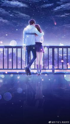 Over 3000 anime and manga lovers like our website, come and see . - Over 3000 anime and manga lovers like our website, come and see why … – - Couple Amour Anime, Couple Anime Manga, Anime Cupples, Romantic Anime Couples, Anime Couples Drawings, Cute Anime Couples, Otaku Anime, Anime Couples Cuddling, Anime Couples Hugging
