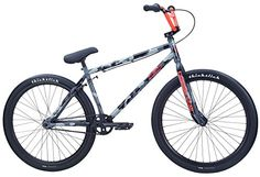 SE Primetime 26 BMX Bike Camoflauge 26in Mens – '14 $ 527.90 BMX Bikes Product Features COLOR(S) Camoflauge FRAME 100% Cr-Mo, Integrated Head Tube, Integrated Seat Clamp, Mid BB, Removable Cable Guides, Removable Brake Mounts, 14mm Dropouts, Cut-Out Seat Tube FORK 100% Cr-Mo Landing Gear, Butted Legs, 3/8″ Dropouts, Accepts Pegs CRANKSET 3-pc Cr-Mo, 170mm, Closed-End Invisibolt, Mid Sealed Bearing, 33T Alloy SE Bubble Sprocket […] http://www.bicyclessale.com/se-p..