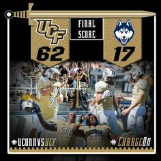 UCF Postgame Graphic from 10/26/13