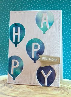 the Lawn Fawn blog: Lawn Fawn Video {5.3.16} A Party Balloons Birthday Card by Lizzy