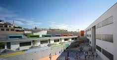 Centro educativo de infantil y primaria en Torre Benagalbón - Archkids. Arquitectura para niños. Architecture for kids. Architecture for children.