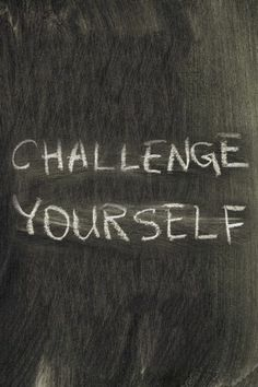 #recovery Challenge yourself.... It's in the challenges that you make the most progress and grow and learn.
