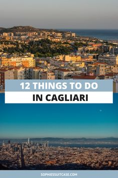 Ciao, welcome to Cagliari, Sardinia's largest city and capital. Located on the south of the island, this magical place has everything and more you'd want from an Italian city. There are so many amazing things to do in Cagliari, here are just a few #cagliari #visitcagliari #visitspain #spainroadtrip #europetwoweeks #twoweeksineurope #europe #spain #thingstodo #travelguide