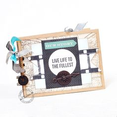Mini Life Guidebook *DT Craft4You* - Scrapbook.com This mini album was created with great embellishments from Tim Holtz