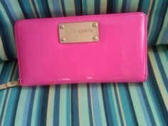 Pink Kate Spade wallet :)