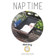 Our Shopping Hammock allows your babe to nap while you shop!  Shop now for the holiday season at BinxyBaby.com #shopbinxy