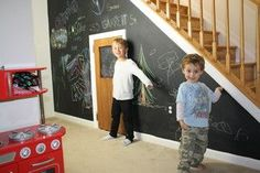 Kids playroom under the stairs ... How cool is that!! www.DetailsHomeServices.com http://www.houzz.com/pro/gelaricon/details-home-services