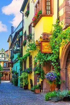 Riquewihr, Alsace, France ~