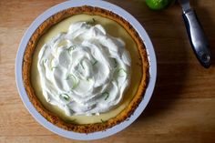 key lime pie – smitten kitchen adapted from Joes Stone Crab recipe Pie Recipes, Sweet Recipes, Baking Recipes, Dessert Recipes, Baking Tips, Kitchen Recipes, Dessert Ideas, Healthy Recipes, Just Desserts