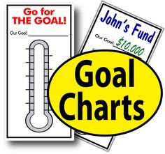 fundraising goal chart ideas - Google Search | Goal Charts ...