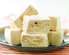Homemade Salted Caramel marshmallows