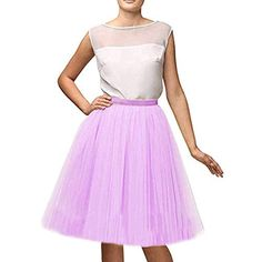Amazon Dresses, Evening Party Gowns, Lavender, Tulle, Ballet Skirt, Prom, Skirts, Fashion, Senior Prom