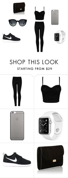 """iPhone Game Strong"" by booker0122 on Polyvore featuring Wolford, Native Union, NIKE, Mansur Gavriel and Paul Smith"