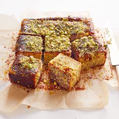 Your weekly is here: sticky pistachio cake with seville orange syrup. Total Time: 1 Hour 15 Minutes Plus c. Baking Recipes, Cake Recipes, Dessert Recipes, Small Food Processor, Food Processor Recipes, Pistachio Cake, Pistachio Recipes, Savoury Cake, Let Them Eat Cake