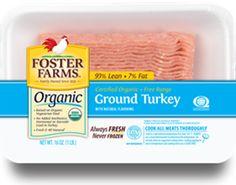 Foster Farms Organic Turkey giveaway