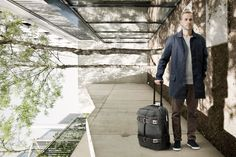 Function and style unite with this bag on wheels. Get ready for your future journey, visit www.qwstion.com today. #Qwstion #Travel #Luggage