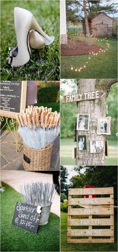 outdoor backyard wedding ideas #weddingideas #weddingdecor #weddinginspiration #weddinglights #outdoorwedding #backyardwedding