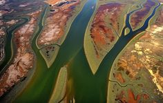 Spain's Rio Tinto, 'red river', Huelva district of Andalusia