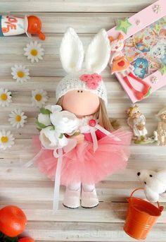 Купить Текстильная кукла. Зая - нежность, подарок, кукла, нежный, зайка, текстильная кукла