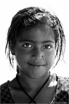 Little girl from India