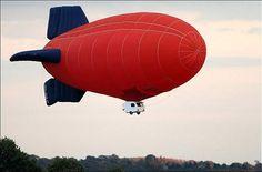 Top Gear's James May in a Predom-Zeppelin