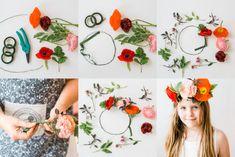 DIY flower crowns! A