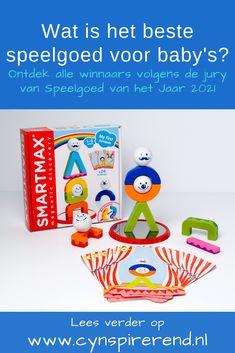 Op zoek naar écht goed speelgoed voor baby's? Speelgoed van het Jaar geeft jaarlijks het label 'Winnaar Speelgoed van het Jaar' aan speelgoed dat positief is beoordeeld door een vakjury op het gebied van veiligheid, kwaliteit, duurzaamheid en speelplezier. Ontdek alle best geteste cadeaus voor baby's op www.cynspirerend.nl