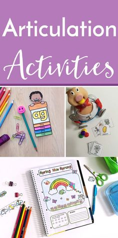 Articulation Therapy Activities - Use these resources with your preschool, Kindergarten, 1st, or 2nd grade students. They're great for special education OR SLPs. Many of the activities work well for large or mixed therapy groups. You will find fun games, print and go worksheets, articulation cards, notebook templates, and more! {preK, K, first, second graders}