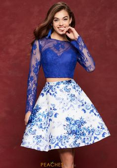 33852186f Stand out from the crowd at your homecoming with this enchanting short dress  by Clarisse 3638