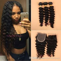 8a best mongolian afro kinky curly virgin hair weave kinky curly 8a brazilian deep wave curly hair 3 bundles with closure free middle 3 part double weft human hair extensions dyeable human hair weave pmusecretfo Images