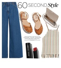 """60sec"" by raniaghifaraa ❤ liked on Polyvore featuring KÉJI, Miguelina, Ancient Greek Sandals, Bobbi Brown Cosmetics and L.K.Bennett"