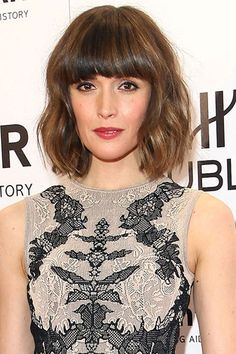 Rose Byrne - Celebrity Hairstyle Ideas - Victoria Beckham Plait (houseandgarden.co.uk)