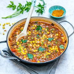 Warm up with this Weeknight Taco Soup (Clean Eating Approved!) - Clean Food Crush