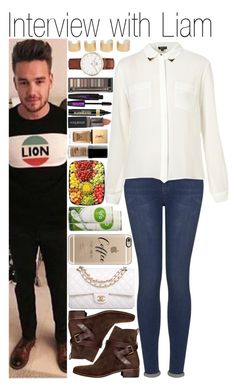 """""""#Interview with Liam"""" by didi-horan ❤ liked on Polyvore featuring Chanel, Topshop, See by Chloé, Smashbox, Maison Margiela, Casetify, L'Oréal Paris, Urban Decay, Yves Saint Laurent and LiamPayne"""
