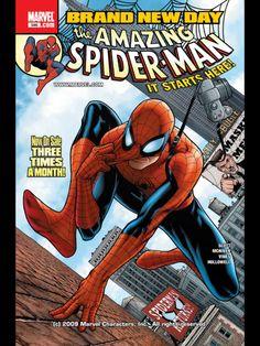 Spider Man on the iPad Marvel Comics App