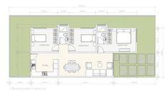 Idea de casa pequeña de un piso | Construye Hogar