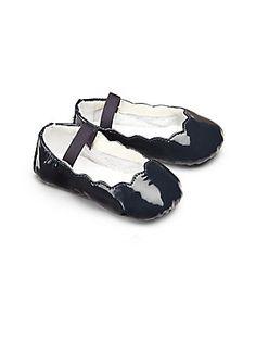 2d4b419e4 Bloch Infant's Scalloped Patent Leather Ballet Flats Cool Baby Stuff, Fun  Baby, Ballet Flats