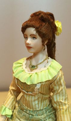 Miniature Dollhouse Doll 1:12 Scale/Victorian Lady