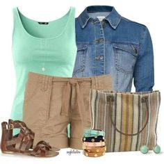 Casual outfit  love the sandals
