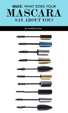 What does your mascara say about YOU? Take our beauty quiz and find out!