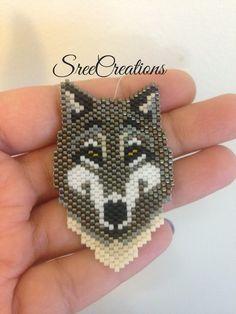 Beaded wolf
