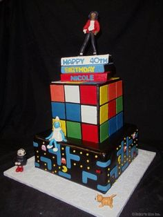Cool cake for us aging children of the 80's.