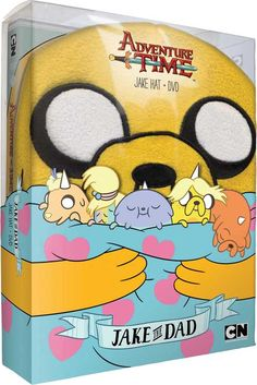Adventure Time-'Volume 5: Jake the Dad' DVDs Come Packed with a Jake Hat!2-disc set will be in stores around mid-September